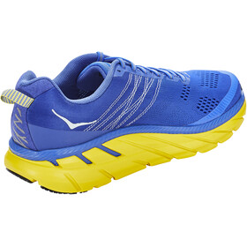 Hoka One One Clifton 6 Zapatillas Running Hombre, nebulas blue/lemon